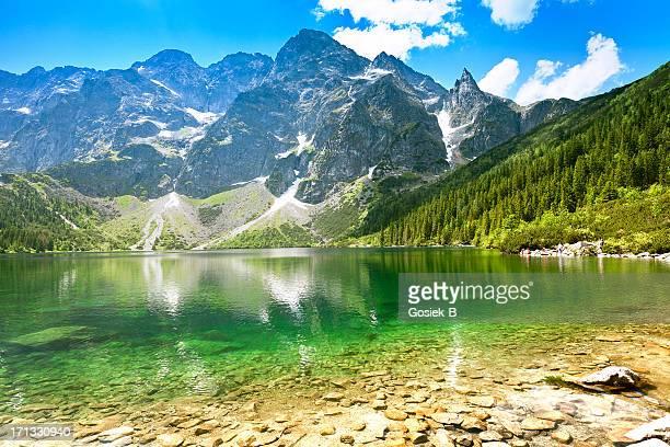'Morskie Oko'- See im Tatra-Gebirge