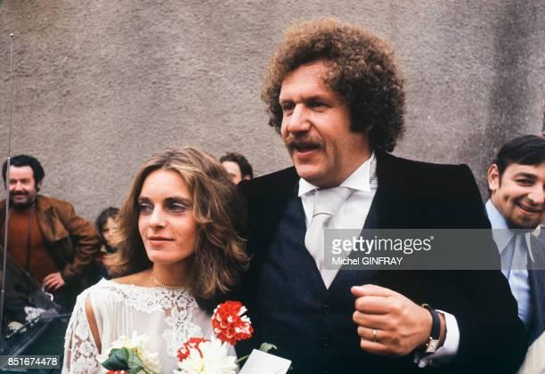Mort Shuman et son épouse Elisabeth en juillet 1974 france