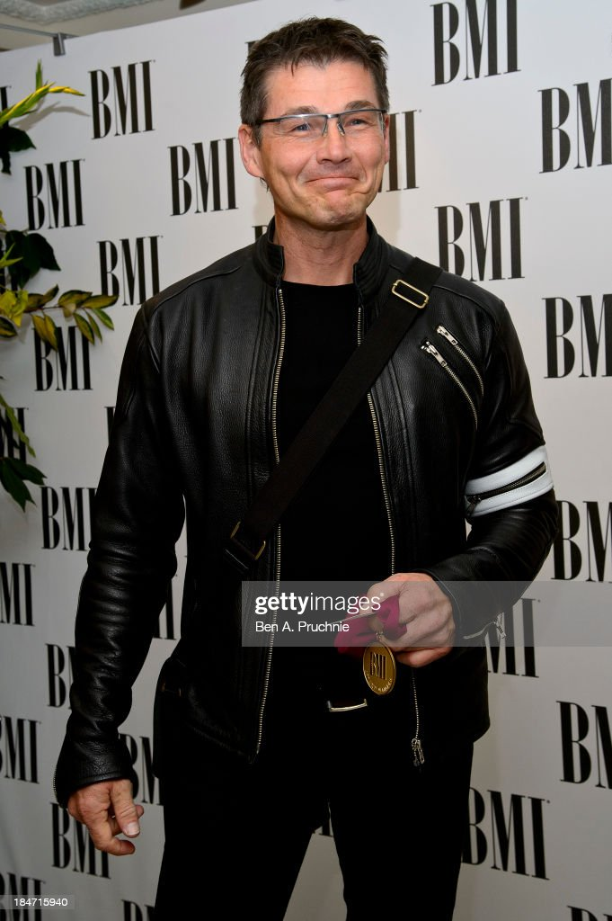<a gi-track='captionPersonalityLinkClicked' href=/galleries/search?phrase=Morten+Harket&family=editorial&specificpeople=675547 ng-click='$event.stopPropagation()'>Morten Harket</a> attends the BMI Awards at The Dorchester on October 15, 2013 in London, England.