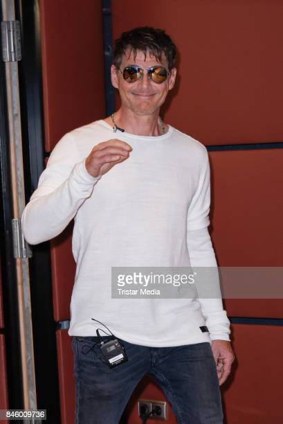 Morten Harket during the 'Aha' Press Conference of MTV Unplugged Summer Solstice at Nordische Botschaften on September 12 2017 in Berlin Germany