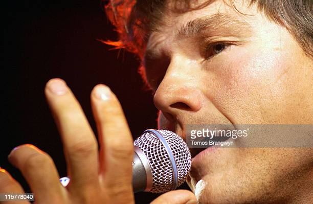 Morten Harket of AHa during 'Tiscali Secret Sessions' at Cargo in London April 3 2006 at Cargo in London