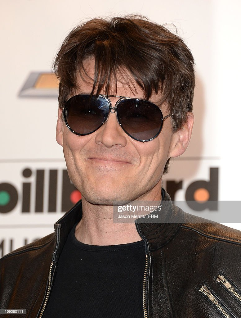 <a gi-track='captionPersonalityLinkClicked' href=/galleries/search?phrase=Morten+Harket&family=editorial&specificpeople=675547 ng-click='$event.stopPropagation()'>Morten Harket</a> of A-ha poses in the press room during the 2013 Billboard Music Awards at the MGM Grand Garden Arena on May 19, 2013 in Las Vegas, Nevada.