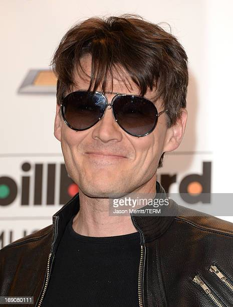 Morten Harket of Aha poses in the press room during the 2013 Billboard Music Awards at the MGM Grand Garden Arena on May 19 2013 in Las Vegas Nevada
