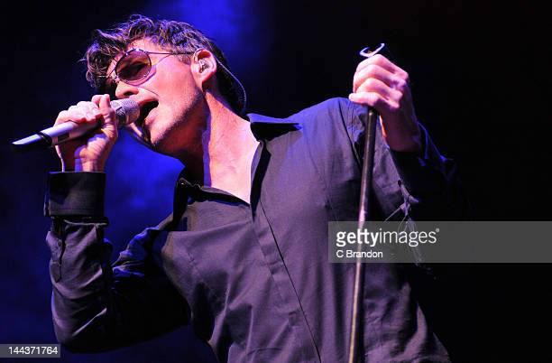 Morten Harket performs on stage at Indigo2 at O2 Arena on May 13 2012 in London United Kingdom