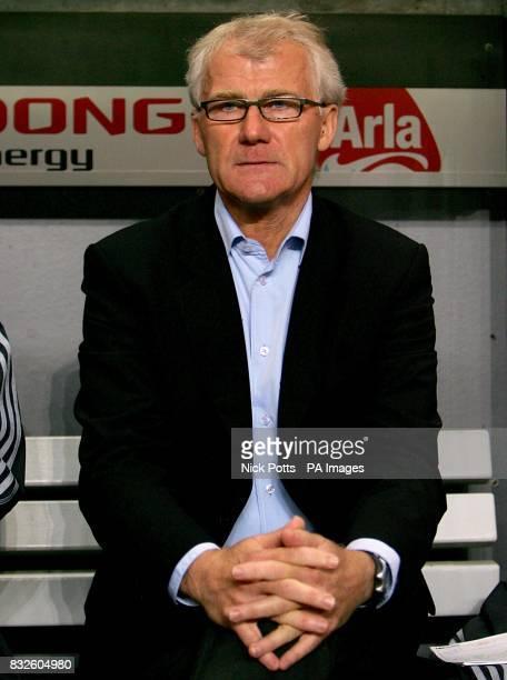 Morten Olsen Denmark's manager