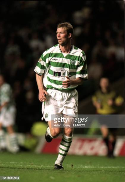 Morten Wieghorst makes a rare appearence for Celtic
