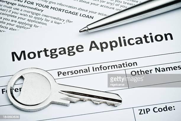 Hypotheken-Antrag