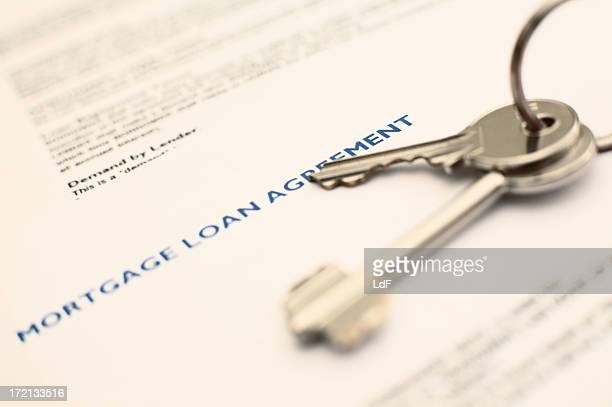 Mortgage close-up