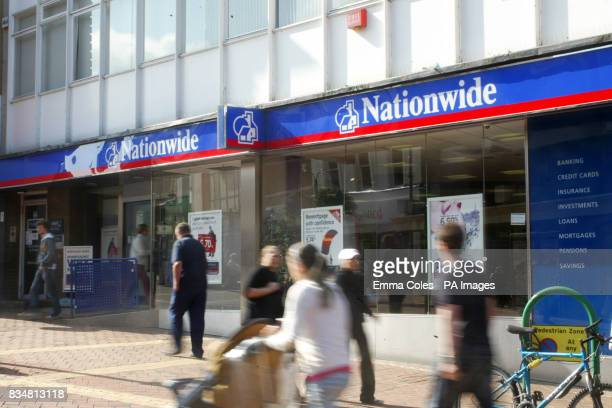 Mortgage lender Nationwide said it was in advanced merger talks with the Derbyshire and Cheshire building societies