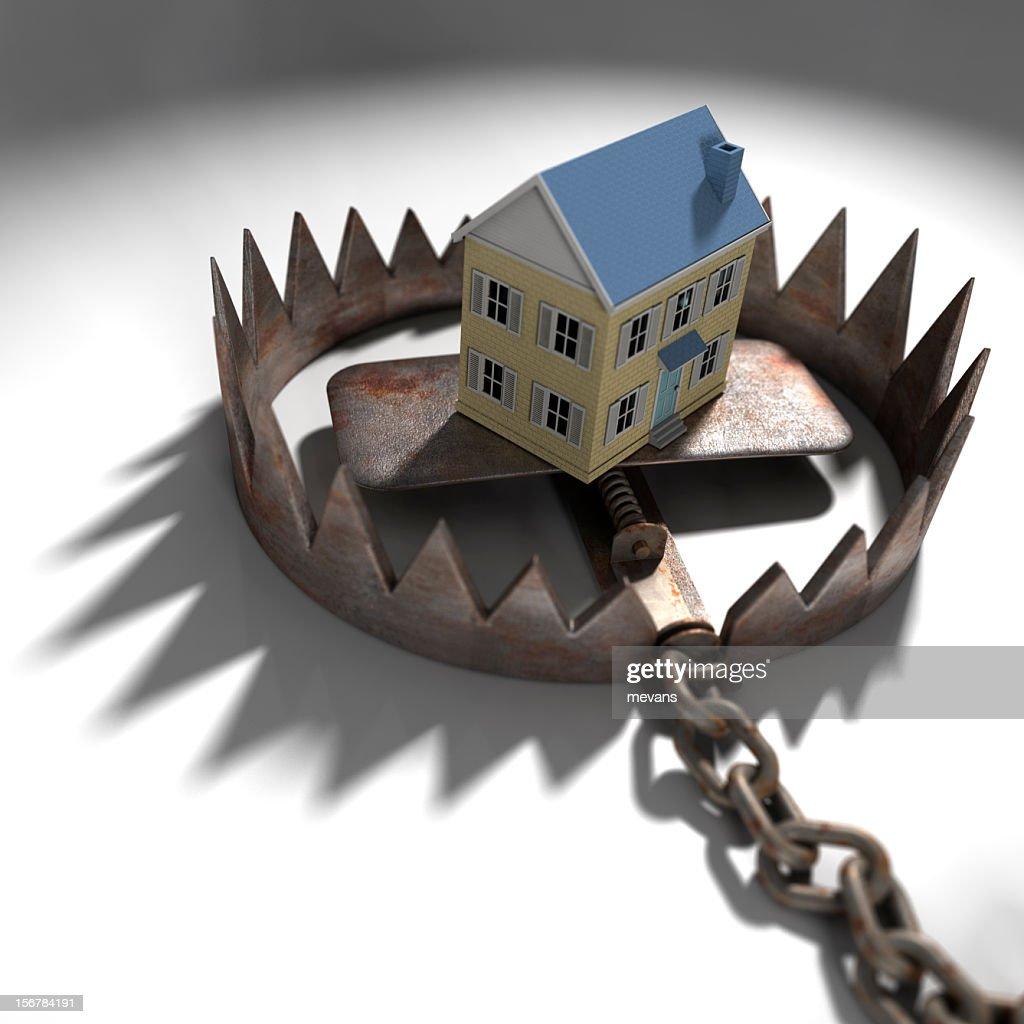 Mortgage Pressure : Stock Photo