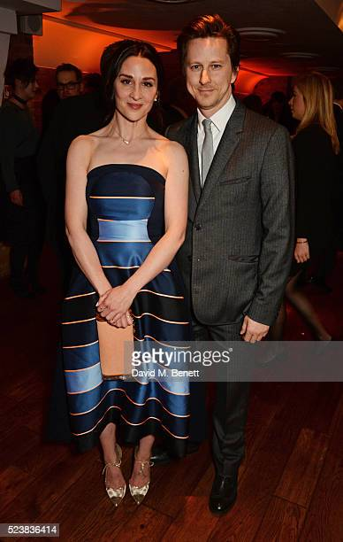 Morven Christie and Lee Ingleby arrive for the British Academy Television Craft Awards at The Brewery on April 24 2016 in London England
