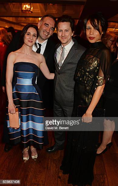 Morven Christie producer Marcus Wilson Lee Ingleby and Vinette Robinson arrive for the British Academy Television Craft Awards at The Brewery on...