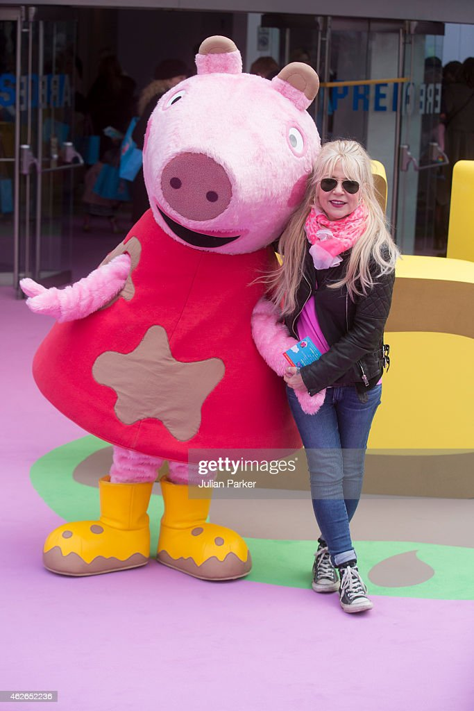 Morwenna Banks attends the UK premiere of 'Peppa Pig: The Golden Boots' at Odeon Leicester Square, on February 1, 2015 in London, England.
