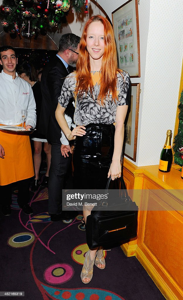 Morwenna Lytton Cobbald attends Veuve Clicquot Style Party at Annabel's on November 26, 2013 in London, England.