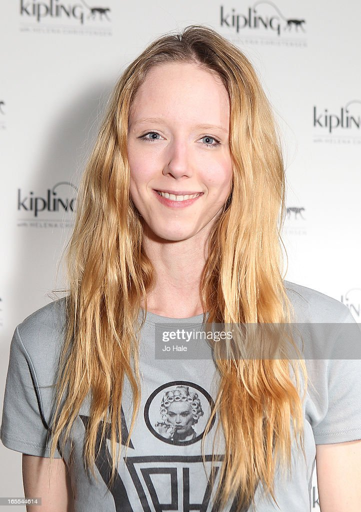 Morwenna Lytton Cobbold attends the launch of new hangbag collection 'Kipling x Helena Christensen' at Beach Blanket Babylon on April 4, 2013 in London, England.