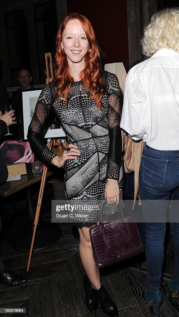 Morwenna Lytton Cobbold attends the 'Models & Mothers' private view, an exhibition of her photographs by at The Gilbert Scott on October 7, 2013 in London, England.