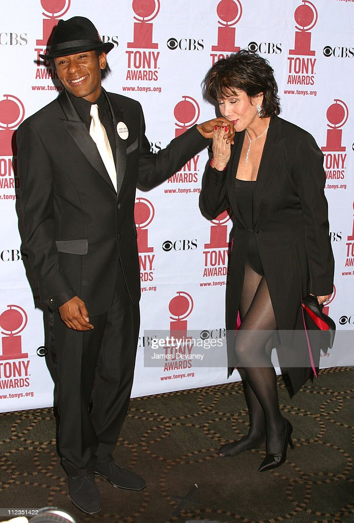 Mos Def and Michele Lee during 56th Annual Tony Awards - Press Room at American Theater at Radio City Music Hall in New York City, New York, United States.