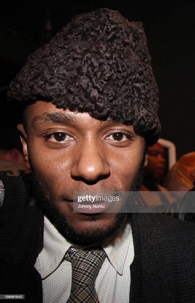 <a gi-track='captionPersonalityLinkClicked' href=/galleries/search?phrase=Mos+Def&family=editorial&specificpeople=206384 ng-click='$event.stopPropagation()'>Mos Def</a> attends Roc-A-Fella Reunion at Gramercy Theatre on December 19, 2012 in New York City.