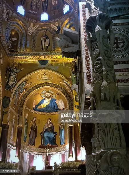 mosaic detail Capella Palatina, Palermo
