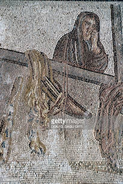 Mosaic from the agora on the island of Kos or Cos Greece Roman civilisation