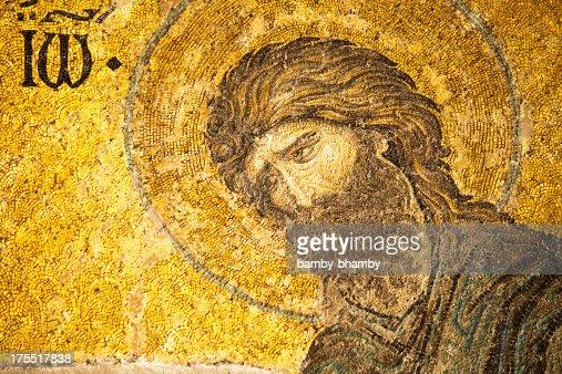 Mosaic of Saint John the Baptist