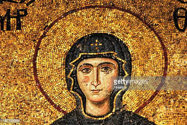 Mosaic of Virgin Mary