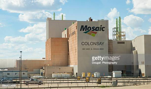 Mosaic Potash Mine Near Colonsay, Saskatchewan