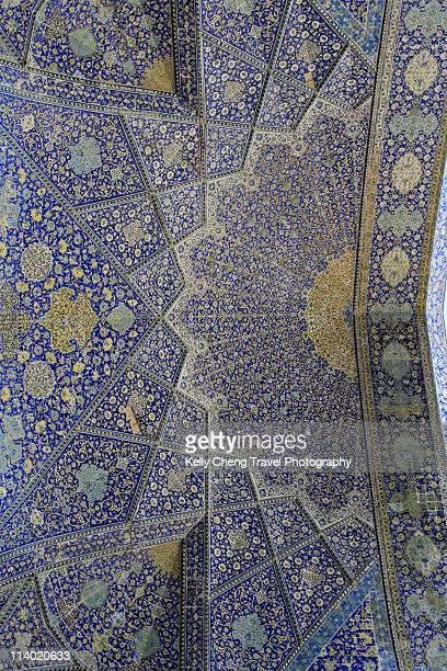 Mosaics at Shah Mosque