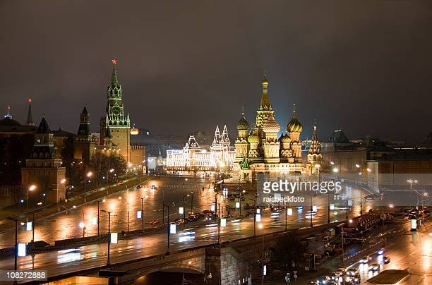 Moscow at Night / Москва ночью