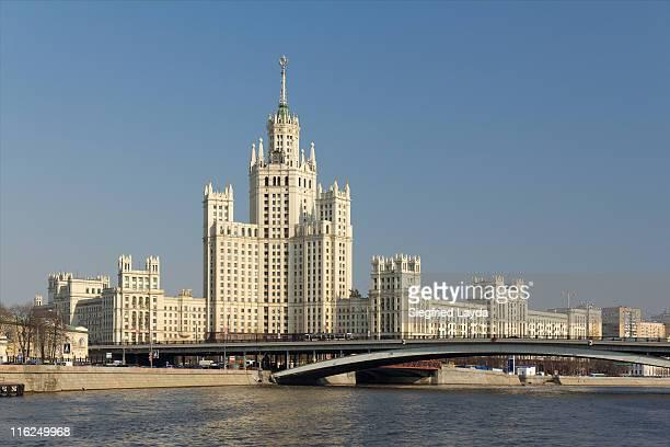 Moscow, Kotelnicheskaya Apartment Block