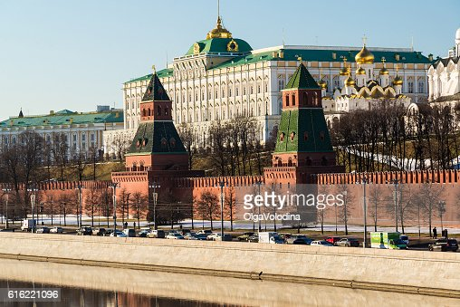 Moscow Kremlin and Grand Palace : Stockfoto