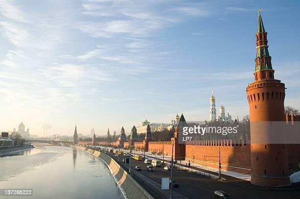 Moscow Kremlin on sunset