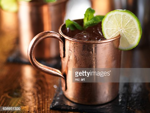moscow mule cocktail : Stock Photo