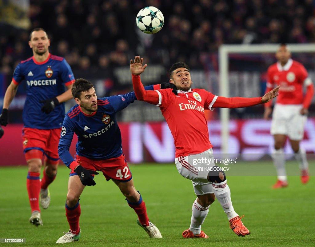 CSKA Moskva v SL Benfica - UEFA Champions League