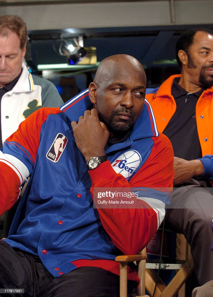 <a gi-track='captionPersonalityLinkClicked' href=/galleries/search?phrase=Moses+Malone&family=editorial&specificpeople=213188 ng-click='$event.stopPropagation()'>Moses Malone</a> during NBA Legends Launch 2005 Destination Finals Tour - April 21, 2005 at NBA Store in New York City, New York, United States.