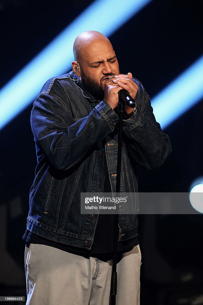 Moses Pelham attends the 4th and Final X-Factor Show on November 25, 2012 in Cologne, Germany.