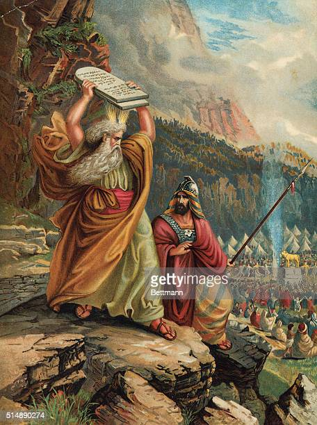 Moses Sees The Golden Calf