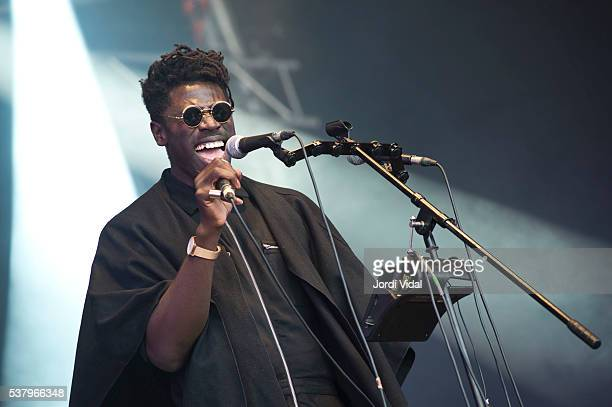 Moses Summey performs on stage during Primavera Sound Festival Day 3 at Parc del Forum in Barcelona Spain
