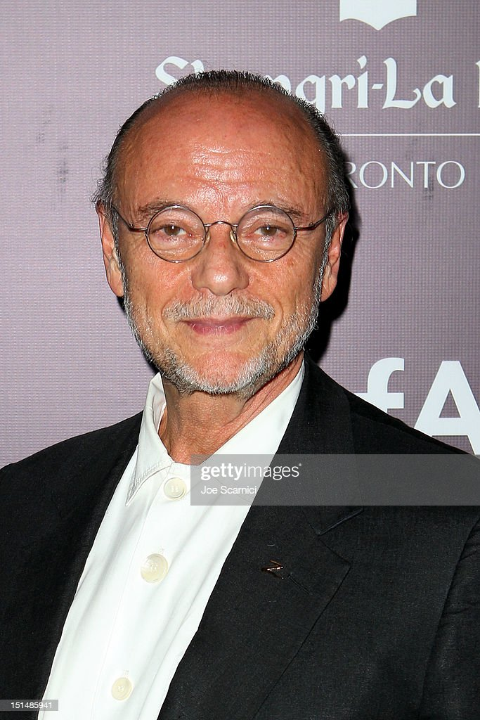 Moses Znaimer attends amfAR Cinema Against AIDS TIFF 2012 during the 2012 Toronto International Film Festival at Shangri-La Hotel on September 7, 2012 in Toronto, Canada.