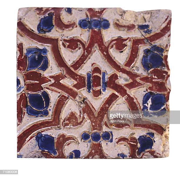 Mosiac tile work, close-up
