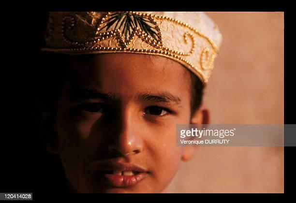 Moslem child in India