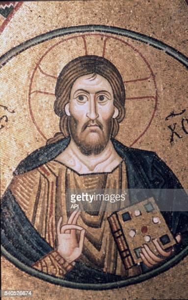Mosqaïque du monastère d'Osios Loukas Grèce
