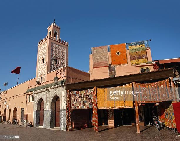 Mosquée à la Place Djemaa El-fna