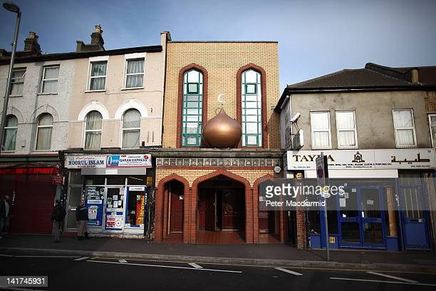 A mosque in Leyton near to the Olympic Park on March 22 2012 in London England The London 2012 Olympics will commence on July 27 2012