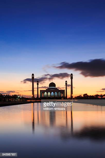 Mosque in sunset,Thailand