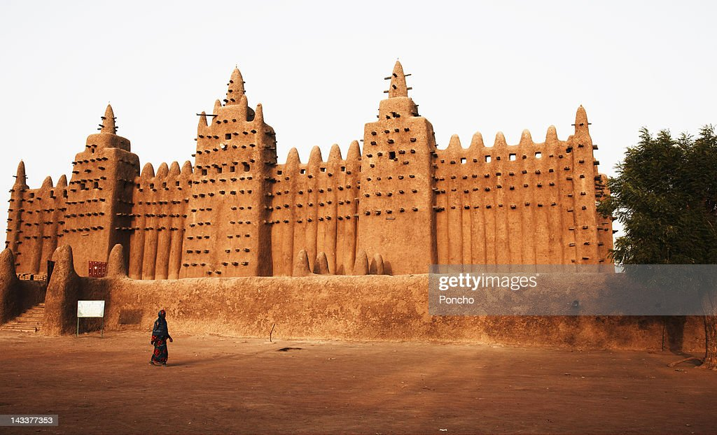 Mosque of Djenne : Stock Photo
