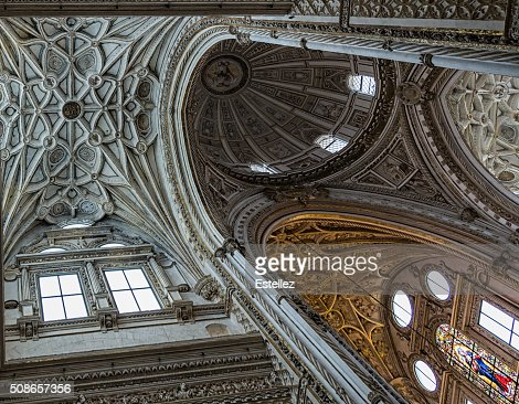 Mosque–Cathedral of Cordoba : Stock Photo