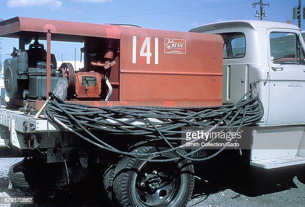 Mosquito spray truck during the 1965 Aedes Aegypti eradication program in Miami Florida 1965 In the 1960s a major effort was made to eradicate the...
