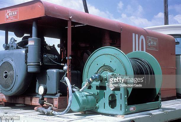 Mosquito spray truck equipment during the 1965 Aedes Aegypti eradication program in Miami Florida 1965 In the 1960s a major effort was made to...