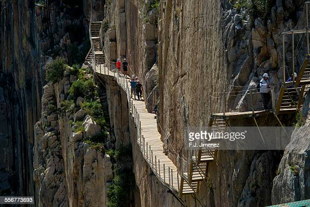 Most dangerous footpath ''El Caminito del rey''